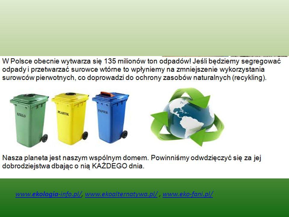 www.ekologia-info.pl/www.ekologia-info.pl/, www.ekoalternatywa.pl/, www.eko-fani.pl/www.ekoalternatywa.pl/www.eko-fani.pl/