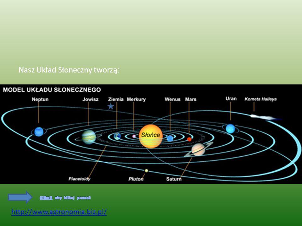 Nasz Układ Słoneczny tworzą: http://www.astronomia.biz.pl/