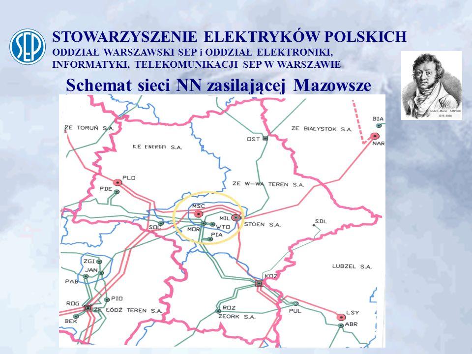 STOWARZYSZENIE ELEKTRYKÓW POLSKICH ODDZIAŁ WARSZAWSKI SEP i ODDZIAŁ ELEKTRONIKI, INFORMATYKI, TELEKOMUNIKACJI SEP W WARSZAWIE Dostawcy energii elektrycznej PSE-Operator S.A.