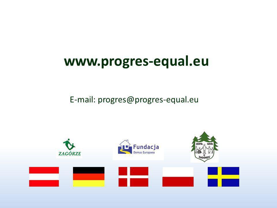 www.progres-equal.eu E-mail: progres@progres-equal.eu
