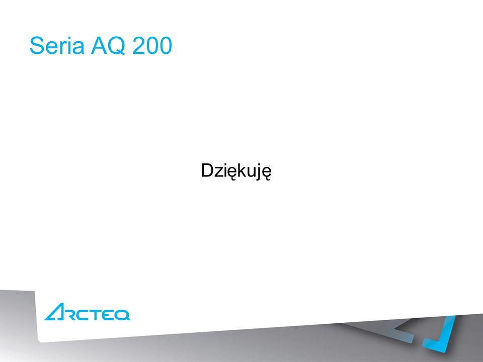 Seria AQ 200 Dziękuję