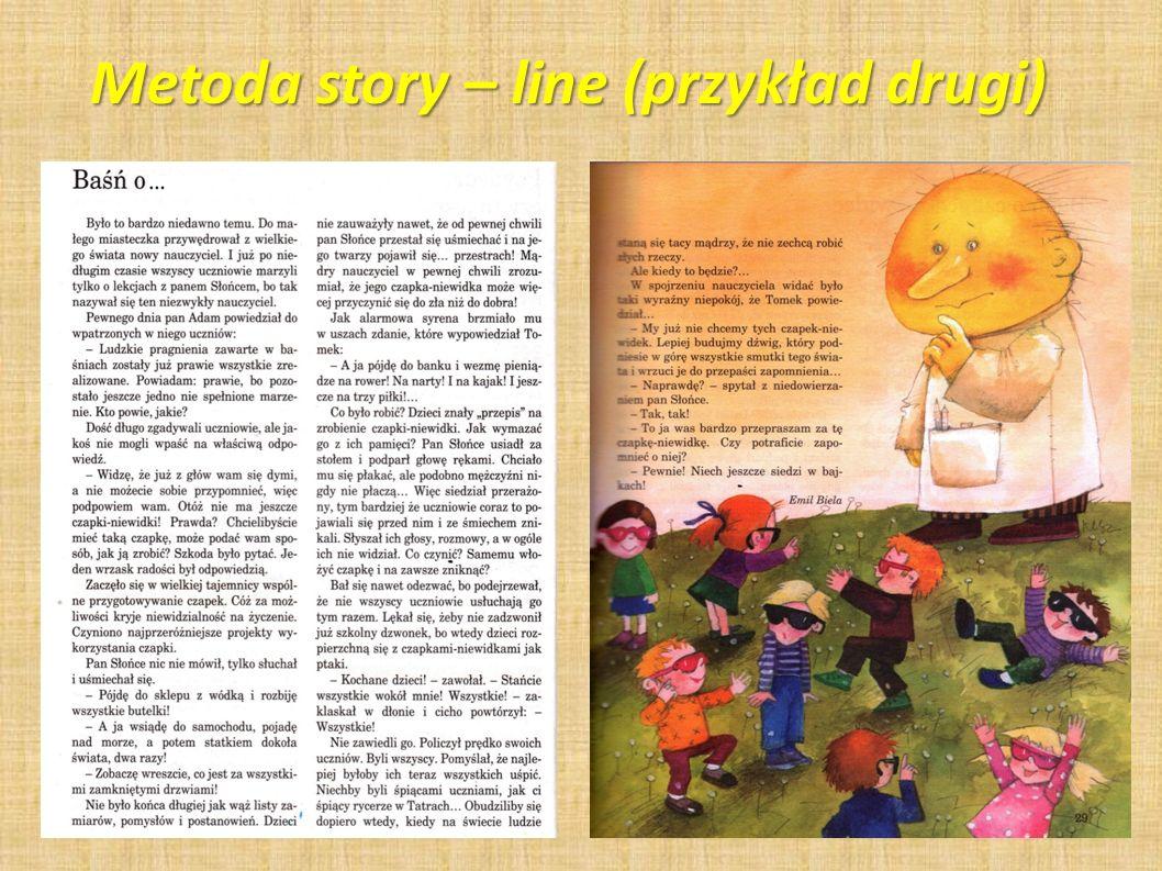 Metoda story – line (przykład drugi)