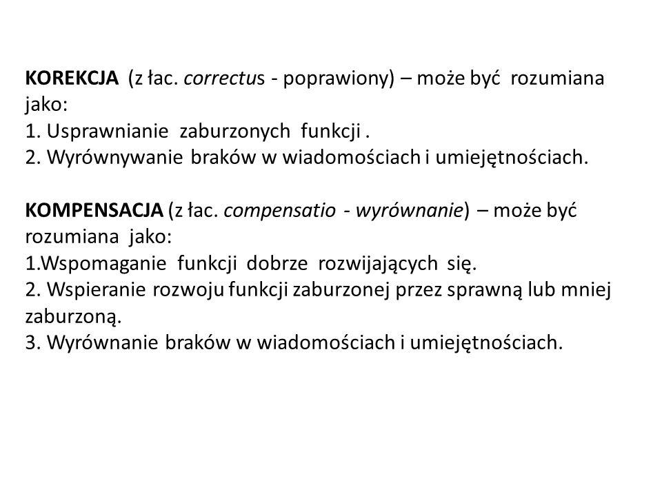 ZABURZENIA ROZWOJU RUCHOWEGO: 1.Słaba koordynacja wzrokowo-ruchowa (współpraca oka i ręki).