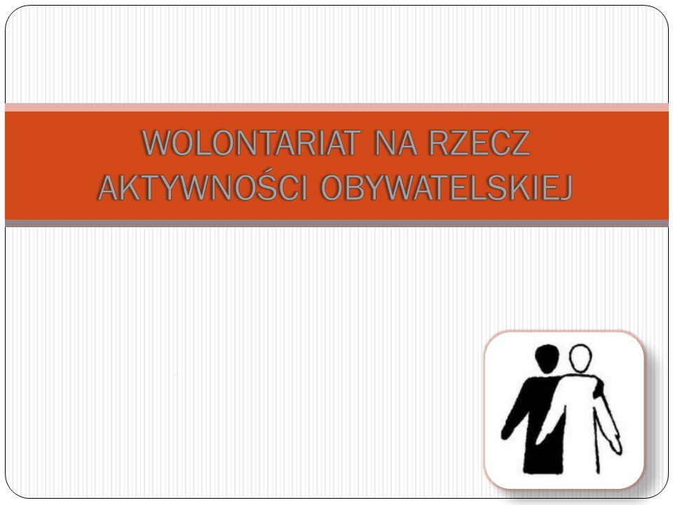 Zacznijmy od podstaw: Co to jest wolontariat.