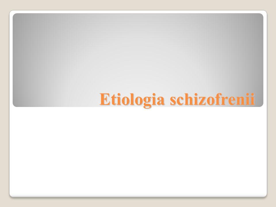 kryteria diagnostyczne zaburzenia schizoafektywnego (wg DSM IV): · z typowymi objawami schizofrenii konkurują wyraźne objawy afektywne (manii lub depresji) · w przebiegu choroby był co najmniej 2- tygodniowy okres choroby, w którym objawy afektywne nie występowały · przebieg choroby jest zawsze epizodyczny 53