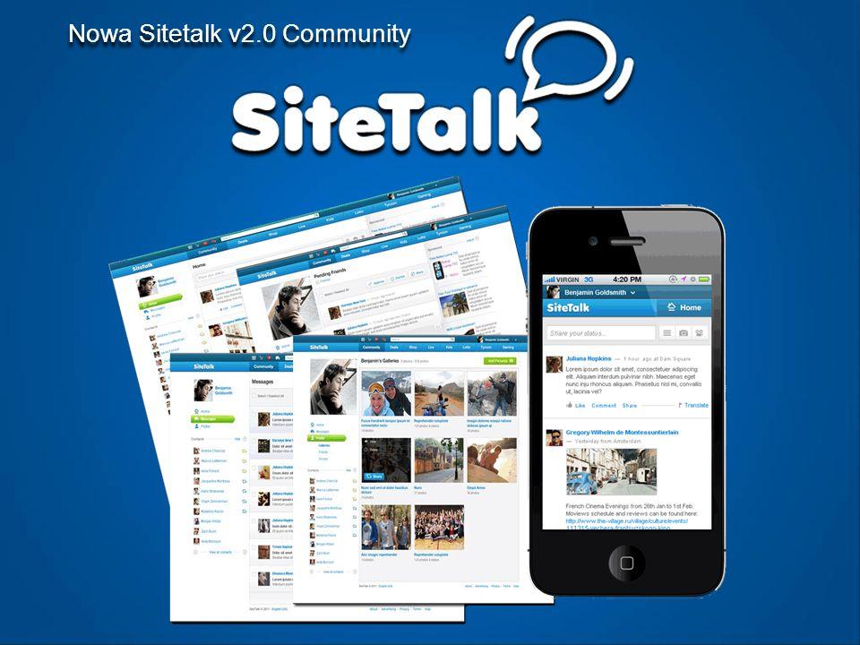 Nowa Sitetalk v2.0 Community