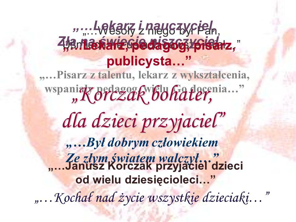 Tydzień Janusza Korczaka w Zgierzu W dniach 23 maja – 1 czerwca 2012 r.