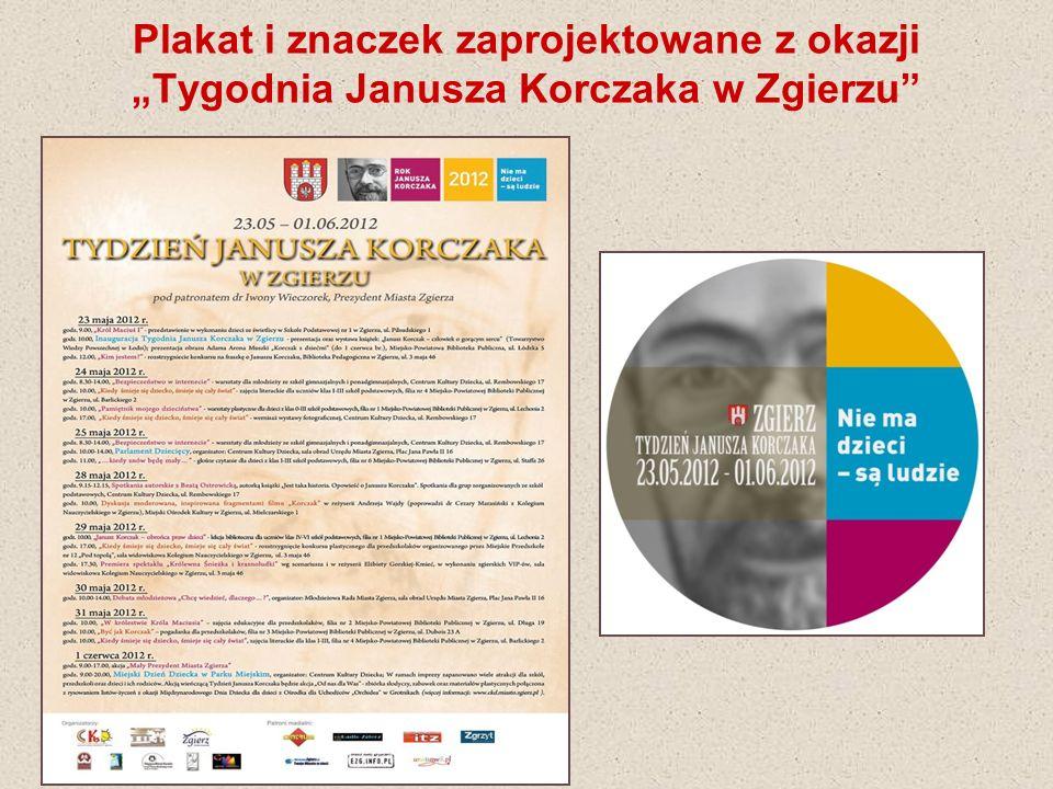 Zuzanna Gieras – Szkoła Podstawowa nr 8 w Zgierzu On w czasie wojny dzieci ratował Czy ktoś odgadnie o kim jest mowa.
