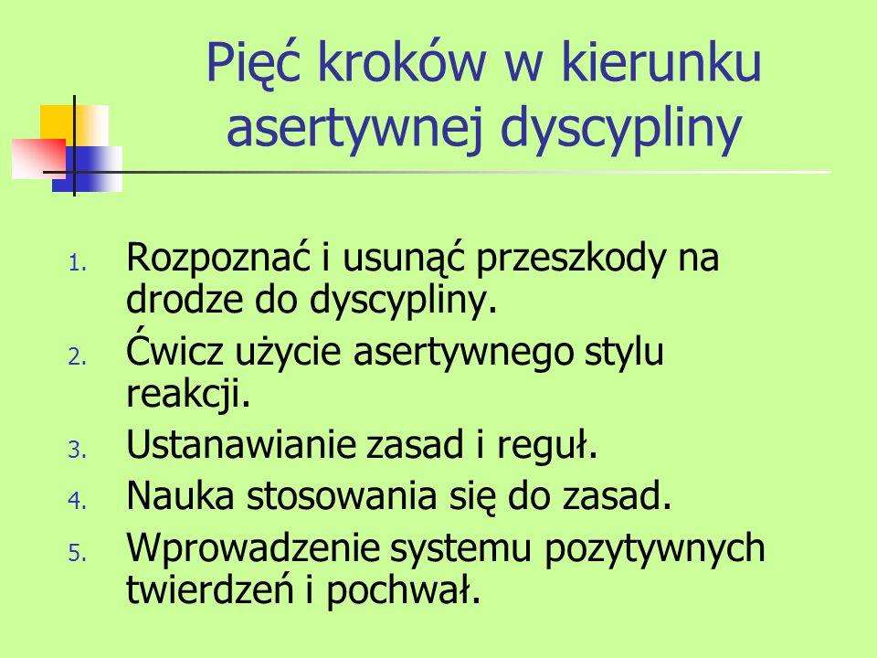 Małopolski Niepubliczny Ośrodek Doskonalenia nauczycieli Dyscyplina w klasie jako efekt planowych i długofalowych działań.