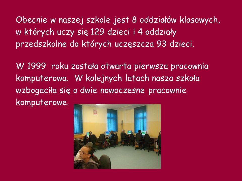 W 2003 roku dzięki wsparciu i przychylności Radnych Gminy Pruszcz Gdański oraz pani wójt Magdaleny Kołodziejczak została otwarta stołówka.