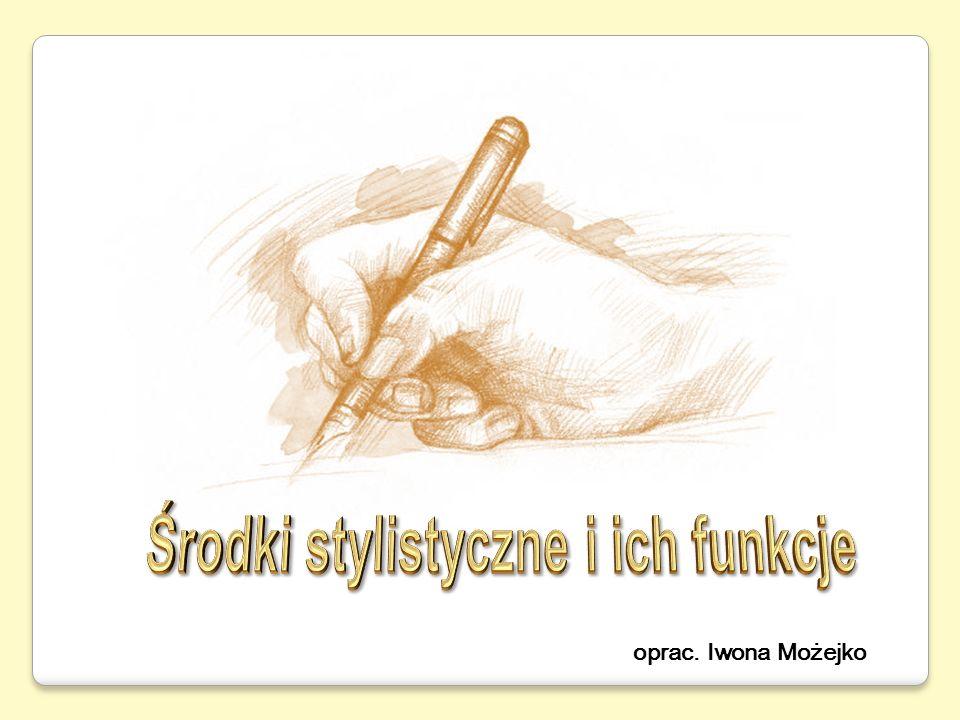 Inwersja (szyk przestawny) – zmiana naturalnego szyku wyrazów w zdaniu.