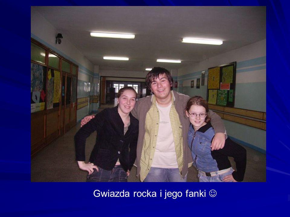 Gwiazda rocka i jego fanki