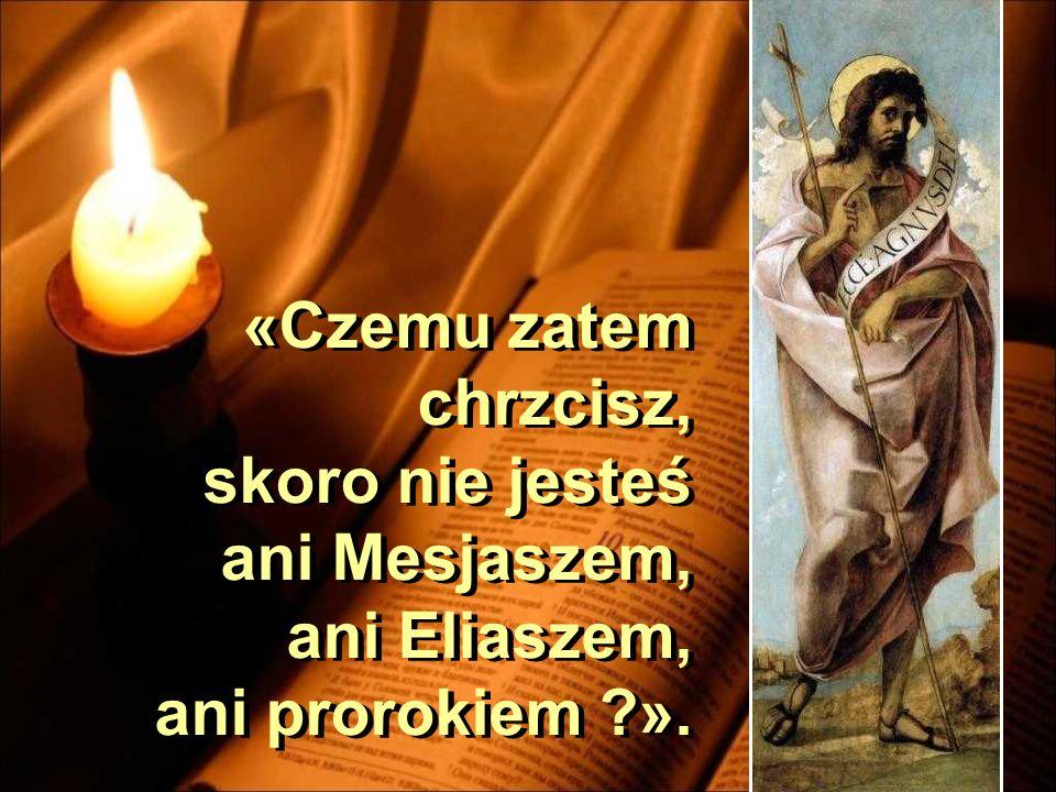 A wysłannicy byli spośród faryzeuszów. I zadawali mu pytania, mówiąc do niego: