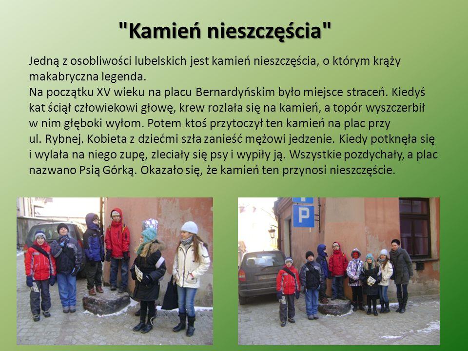Tajemniczy skarb Noc była ciemna jak smoła, a wiatr przetaczał nad Lublinem ulewę.