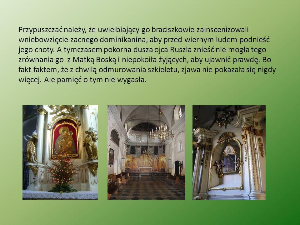 Podanie o Drzewie Krzyża Św.