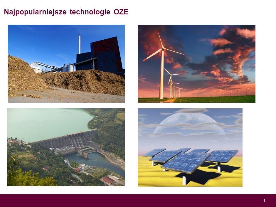 Wycena projektów inwestycyjnych w obszarze energetyki odnawialnej Franciszek Wojtal ENERGA SA Czerwiec, 2013