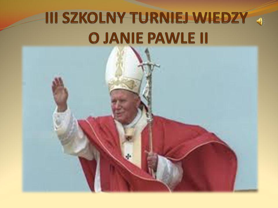 11. Ile razy Ojciec Święty pielgrzymował do Polski: a) 8 b) 4 c) 6