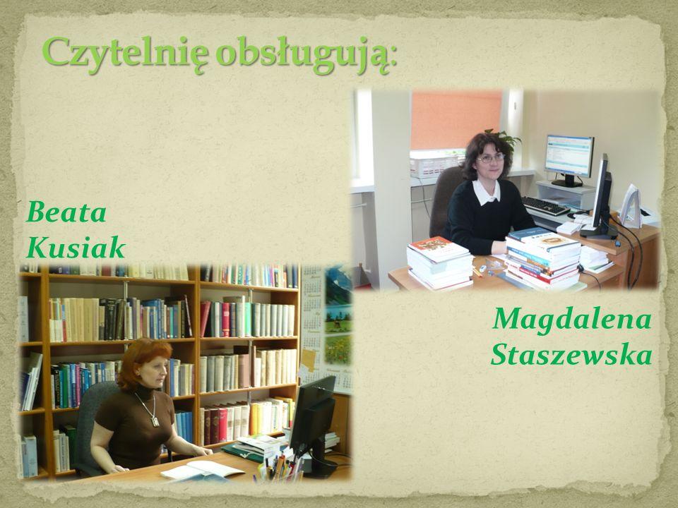 Magdalena Staszewska Beata Kusiak