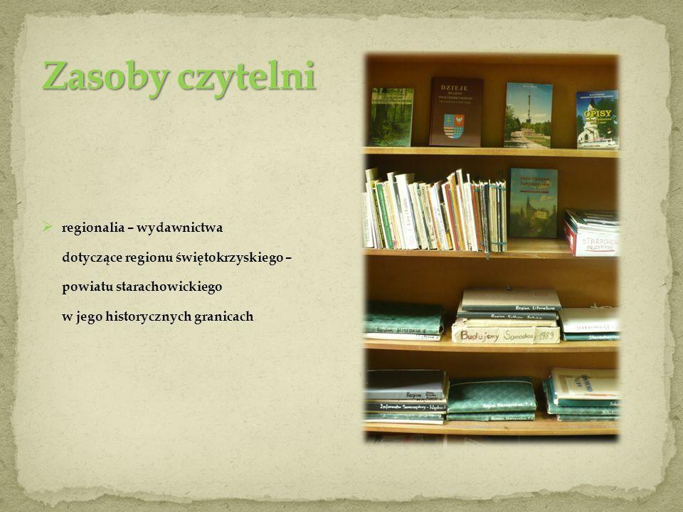 Katalogi : alfabetyczny i przedmiotowy (według działów wiedzy).