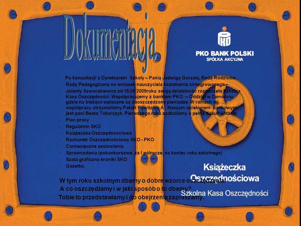 SZKOŁA PODSTAWOWA im. Batalionów Chłopskich w Wólce Wieprzeckiej Oddział w Zamościu 2010-2011
