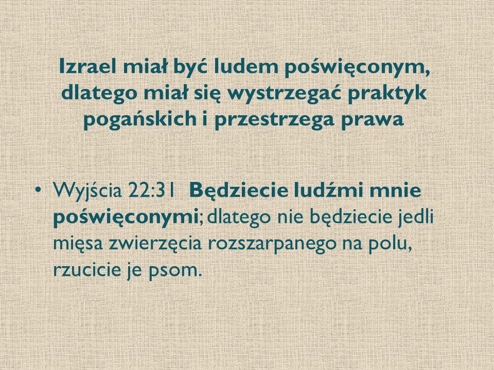 Kapłani byli poświęceni Bogu.