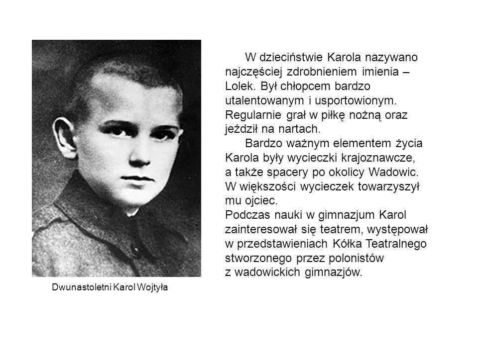 Kapłaństwo 1 listopada 1946 roku kardynał Adam Stefan Sapieha wyświęcił Karola Wojtyłę na księdza, 2 listopada neoprezbiter odprawił Mszę św.