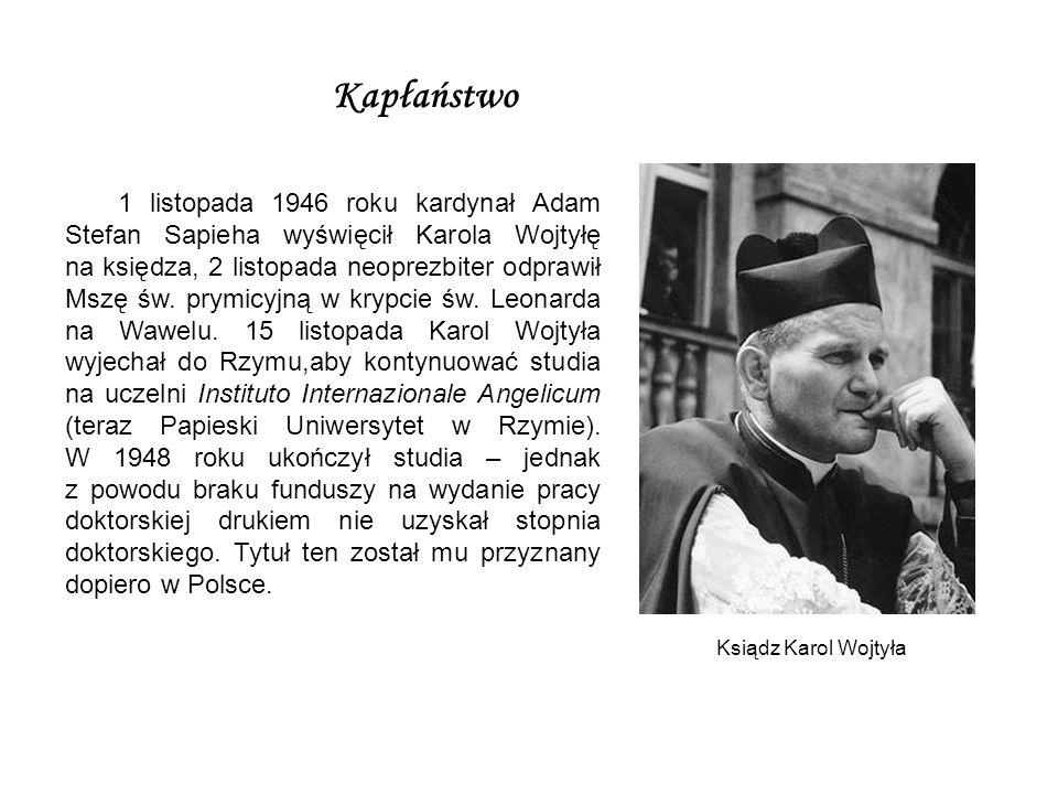Papież - Polak 16 października 1978 zapisał się złotymi zgłoskami w historii narodu polskiego.
