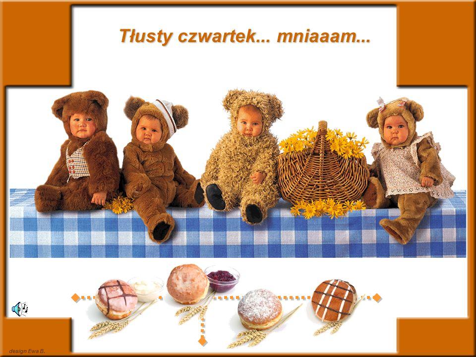 photo Anne Geddes & design Ewa B.Wpadły dzieci do cukierni - Jest pan Pączek.