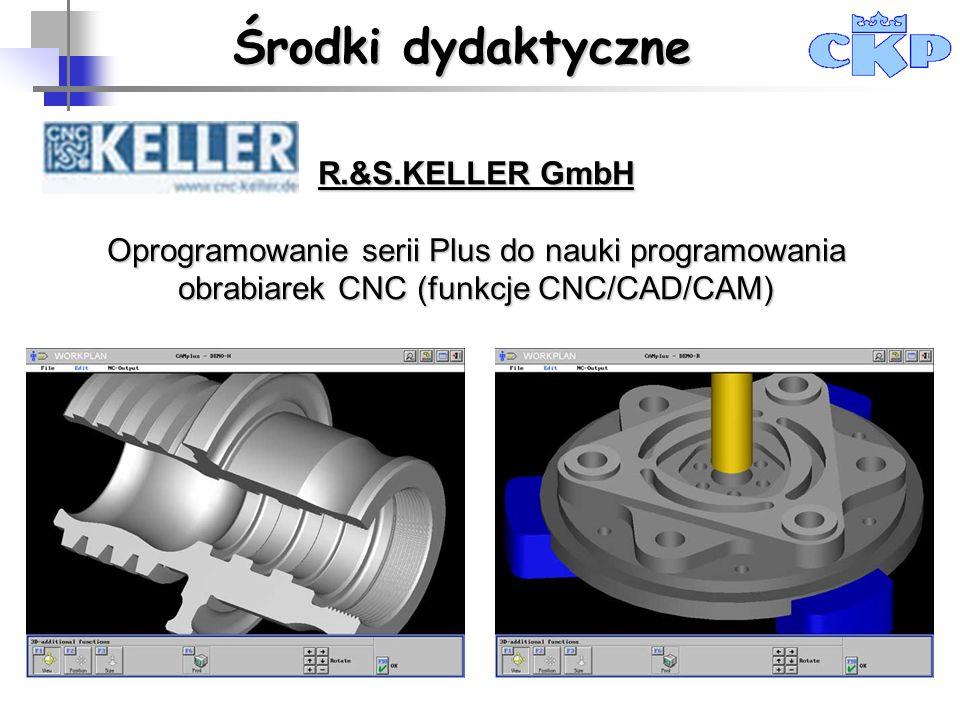 R.&S.KELLER GmbH Oprogramowanie serii Plus do nauki programowania obrabiarek CNC (funkcje CNC/CAD/CAM) Centrum Kształcenia Praktycznego w Krakowie Śro