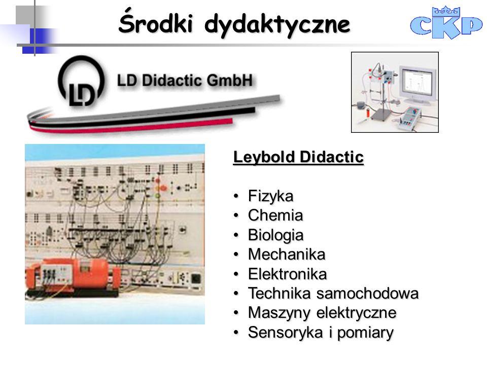 Leybold Didactic FizykaFizyka ChemiaChemia BiologiaBiologia MechanikaMechanika ElektronikaElektronika Technika samochodowaTechnika samochodowa Maszyny