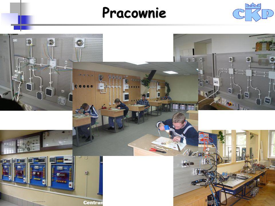 Centrum Kształcenia Praktycznego w Krakowie Pracownie
