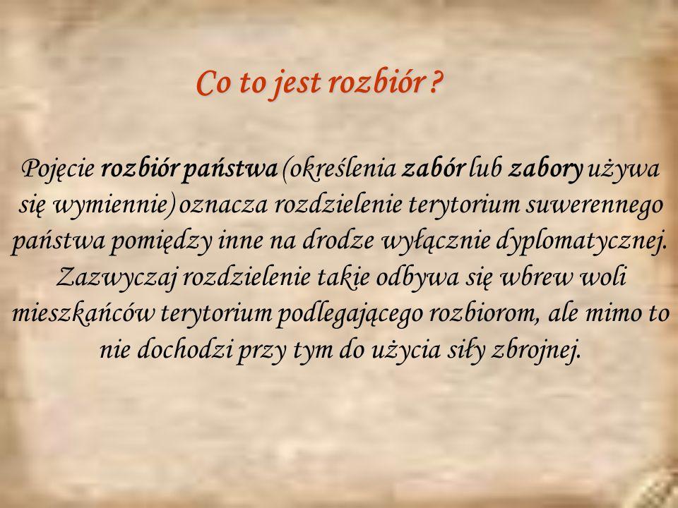 Podpisanie traktatu o drugim rozbiorze Polski przez Rosję i Prusy