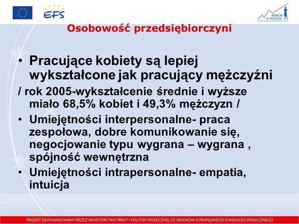 Wykształcenie kobiet W roku akademickim 2005/06 w województwie mazowieckim w 101 szkołach wyższych studiowało 371.429 studentów, z czego 56,9 % stanowiły kobiety.