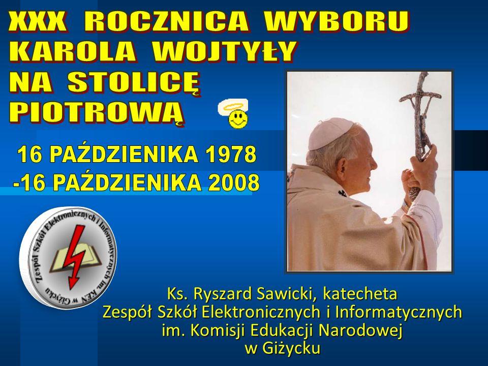 Ks. Ryszard Sawicki, katecheta Zespół Szkół Elektronicznych i Informatycznych im. Komisji Edukacji Narodowej w Giżycku