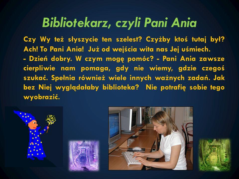 Nauka w bibliotece Podróżniku, zwróć uwagę na półki.