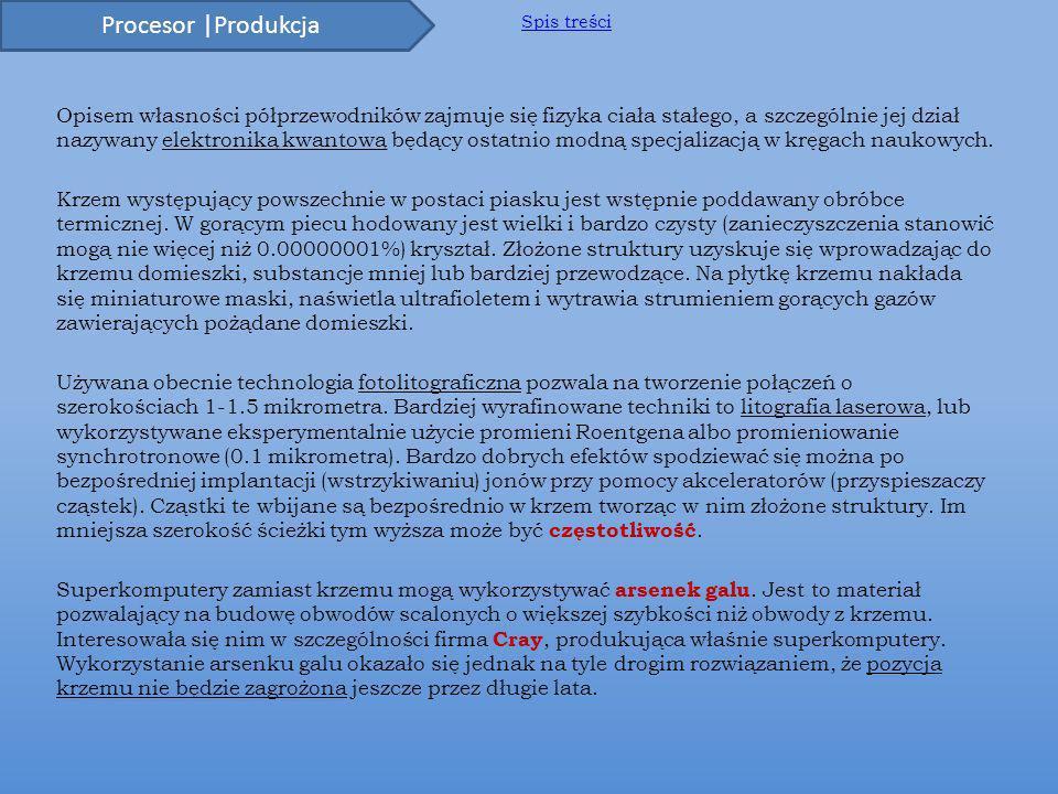 Procesor | Architektury cd.