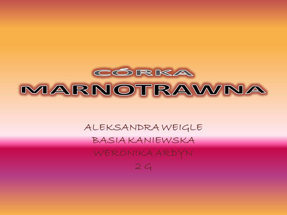 ALEKSANDRA WEIGLE BASIA KANIEWSKA WERONIKA ARDYN 2 G