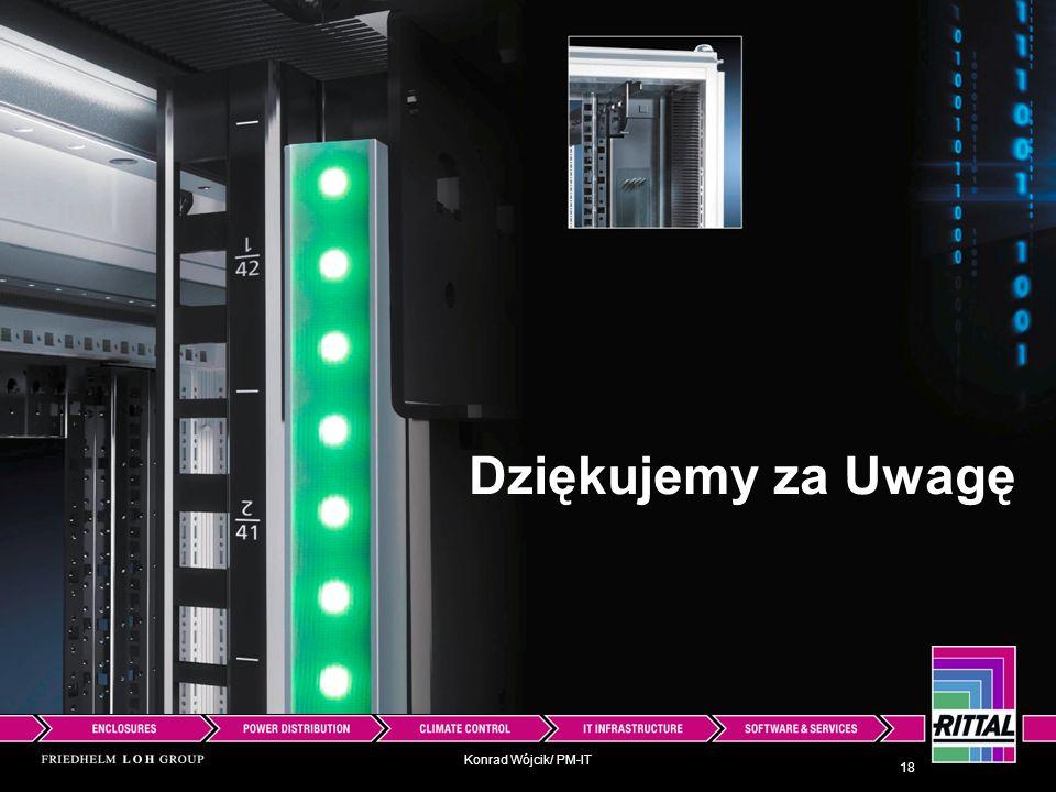 Konrad Wójcik/ PM-IT 18 Dziękujemy za Uwagę