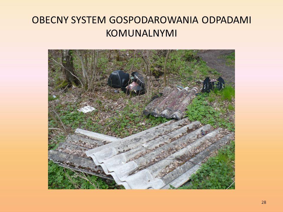 OBECNY SYSTEM GOSPODAROWANIA ODPADAMI KOMUNALNYMI 28