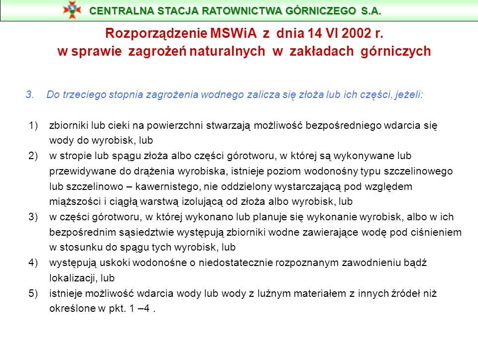PODSTAWA DZIAŁANIA POGOTOWIA Pogotowie wodne działa na podstawie przepisu § 74 ust.