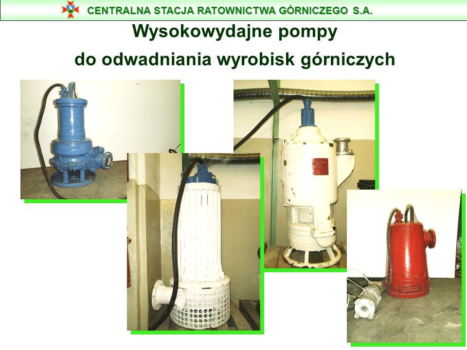 POMPA WODNO - POWIETRZNA TYP OP-80 c Parametry: Max. wydajność [m 3 /min] - 0,3 Max. wys. podnoszenia [m] - 40 Ciężar [kg] -100 Max. moc [kW] - Średni