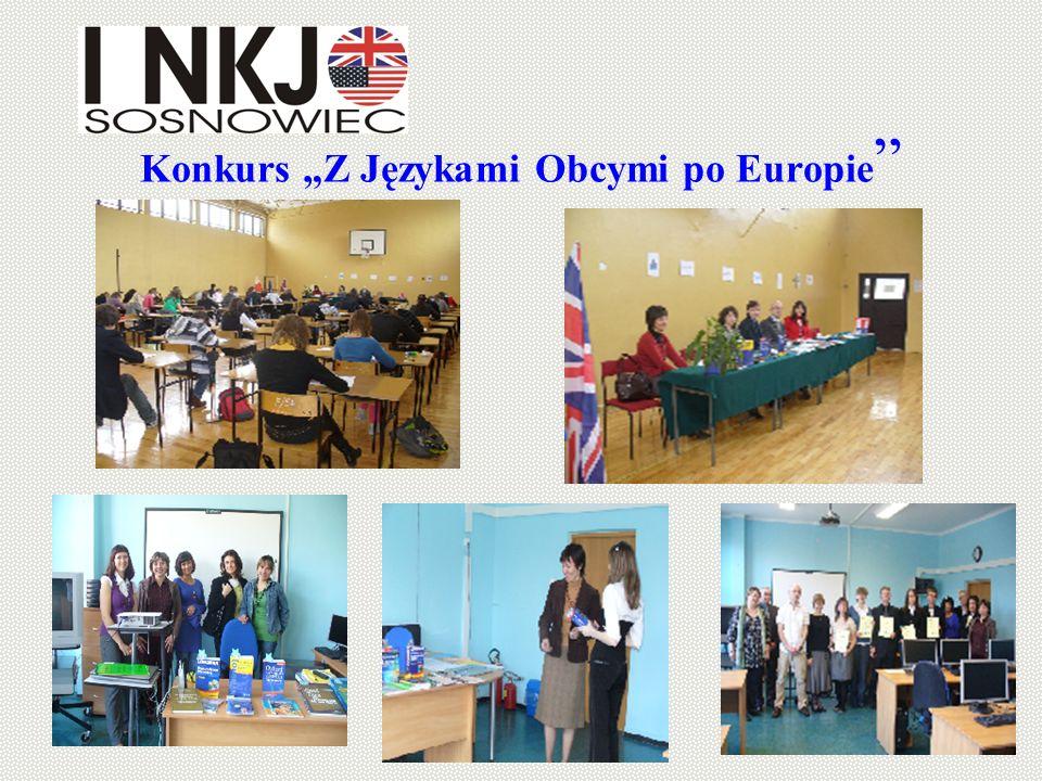 Konkurs Z Językami Obcymi po Europie
