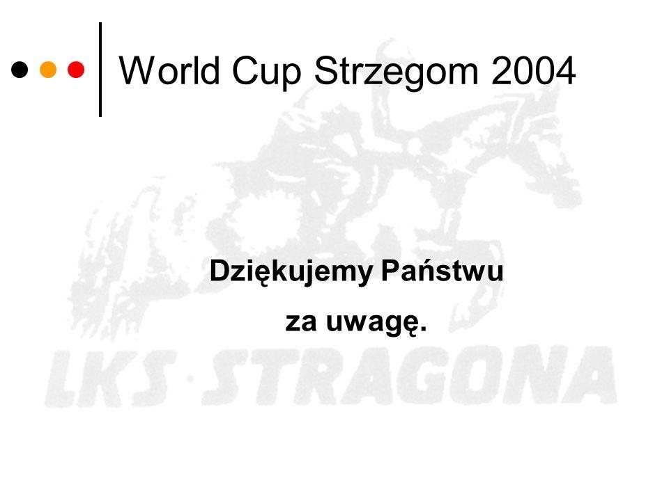 World Cup Strzegom 2004 Dziękujemy Państwu za uwagę.