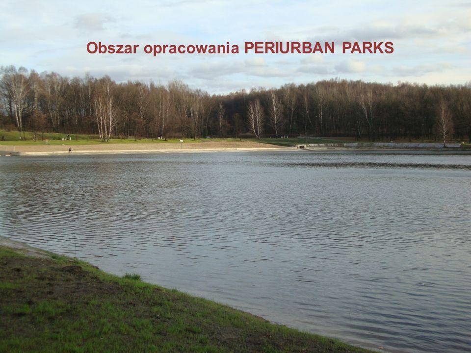Kryteria wyboru obszaru do projektu PERIURBAN Parks Metropolia Silesia obejmująca 14 miast członkowskich, nie posiada wyraźnej strefy podmiejskiej, dlatego trudno wyznaczyć jeden podmiejski teren zieleni - reprezentatywny dla całego obszaru.