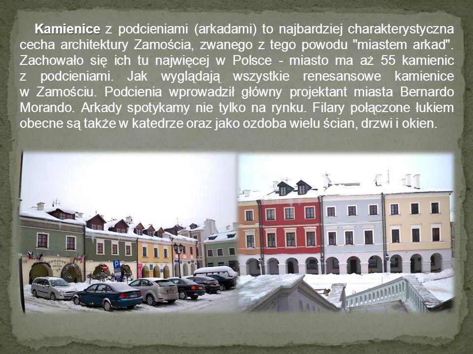 Dziękuję za uwagę Opracowano na podstawie informacji zawartych na stronach: http://www.zamosc.wonder.pl/start http://www.robertkusmierz.com/zamosc/index.php?d=zabytki Wszystkie zdjęcia w prezentacji autorstwa Ewy Szykuły