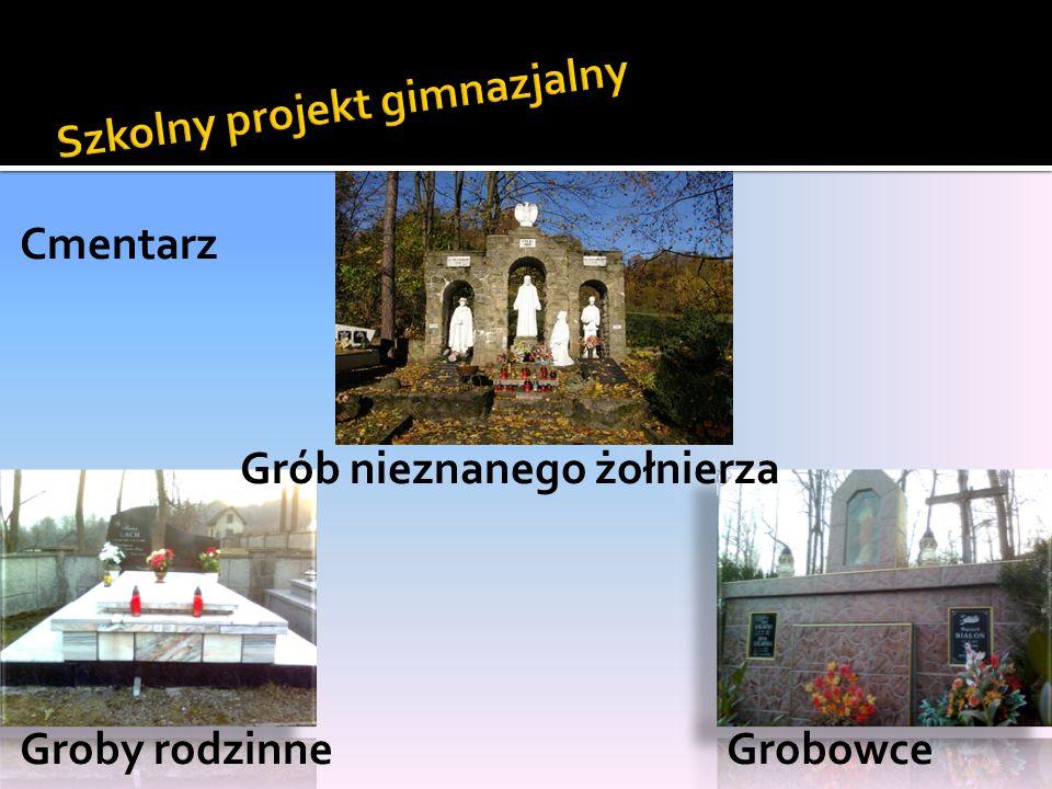 Cmentarz Grób nieznanego żołnierza Groby rodzinne Grobowce