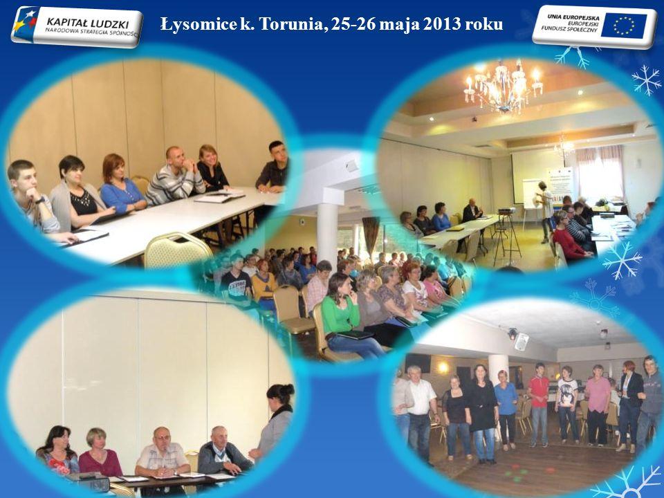 Łysomice k. Torunia, 25-26 maja 2013 roku