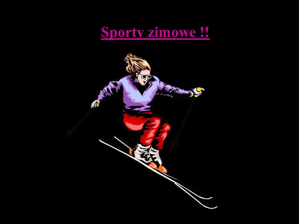 Sporty zimowe !!