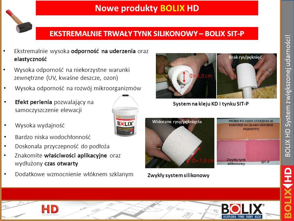 II Konferencja handlowa Bolix. Bełchatów 19-21.01.2011r www.bolix.pl BOLIX HD System zwiększonej udarności! BOLIX HD łączenie rozwiązań - Możliwość be