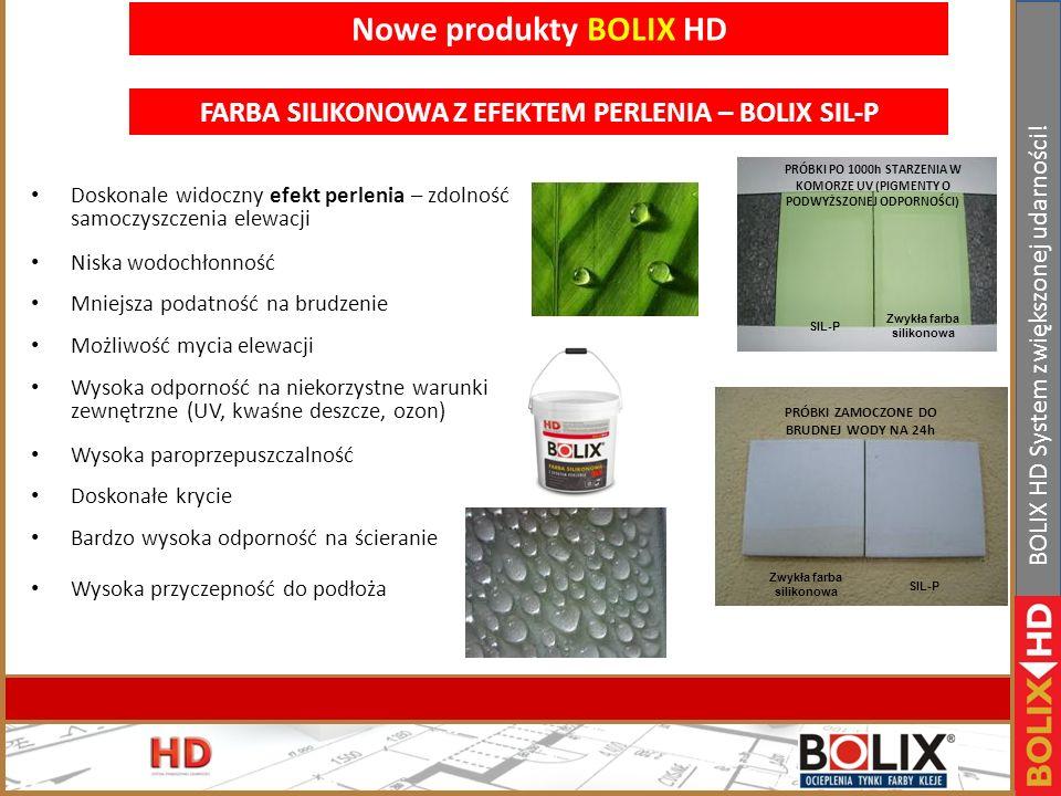 II Konferencja handlowa Bolix. Bełchatów 19-21.01.2011r www.bolix.pl BOLIX HD System zwiększonej udarności! Nowe produkty BOLIX HD EKSTREMALNIE TRWAŁY